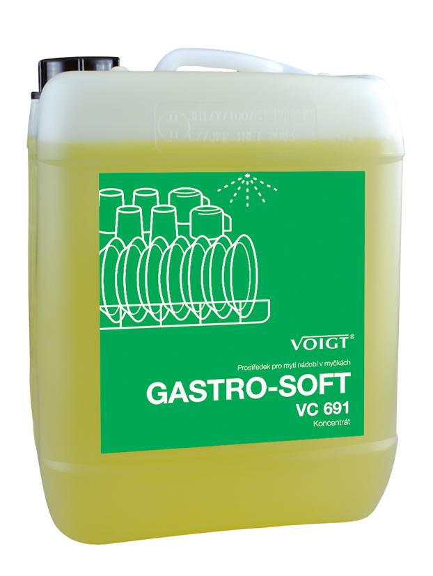 Merida Přípravek na strojové mytí nádobí Merida Gastro - Soft 10l