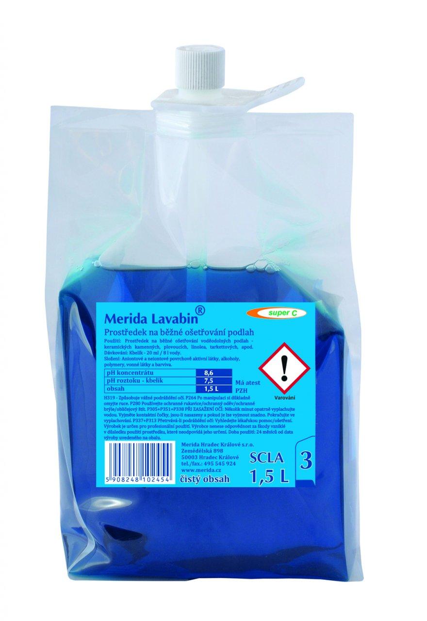 Merida Prostředek na podlahy Merida LAVABIN Super C