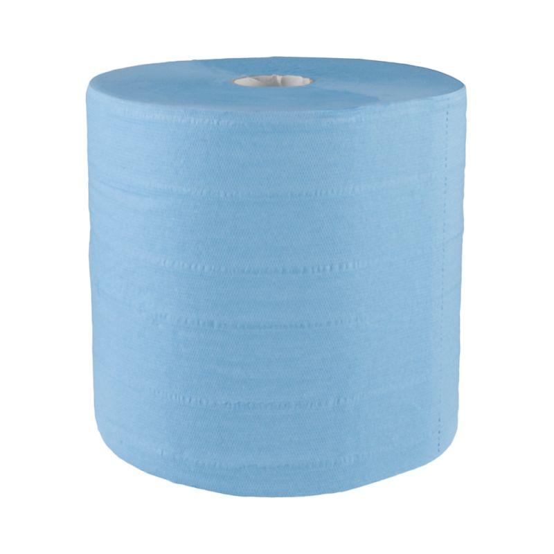 Papírové čistivo MERIDA TOP MODRÉ, 4 vrstvé, (2 role/balení)
