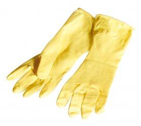 Gumové rukavice - S