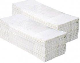 Merida Jednotlivé papírové ručníky 3200 ks, celulóza, 2-vrstvé