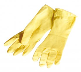 Gumové rukavice - M