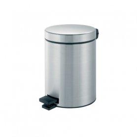 Merida Odpadkový koš nášlapný kovový nerez mat 5 l
