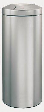 Merida Odpadkový kovový koš samozhášecí 30 l nerez mat