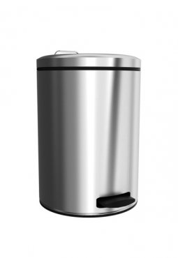 Merida Odpadkový koš nášlapný kovový nerez mat 12 l