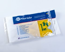 Merida Úklidové gumové rukavice ECONOMIC - L