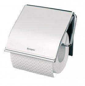 Zásobník na toaletní papír klasický,chrom,lesk