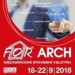 Zveme Vás na veletrh FOR ARCH 2018